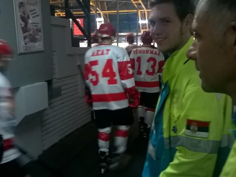 sanitetsko obezbedjenje pacijenata hokej